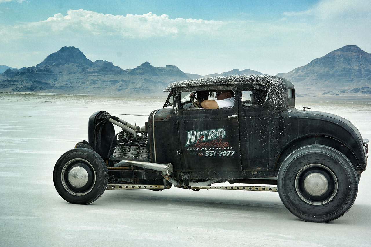 Bonneville - Hot Rod - Photo credit: Unkown