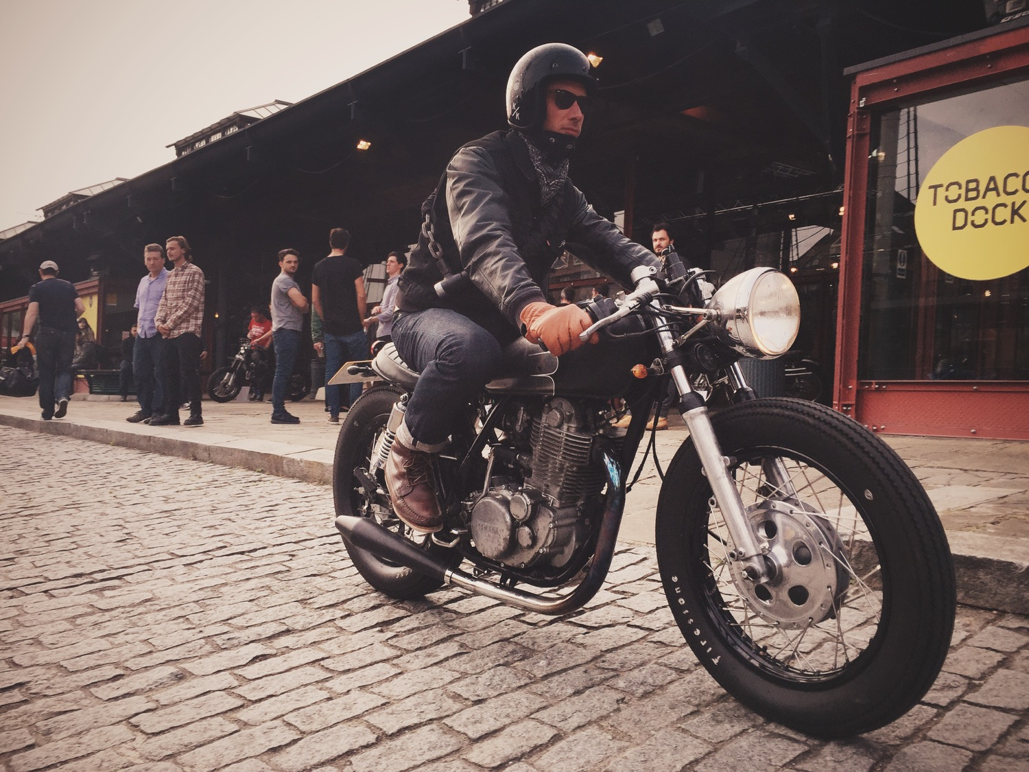 The Bike Shed MC London Event Motorbike Cafe